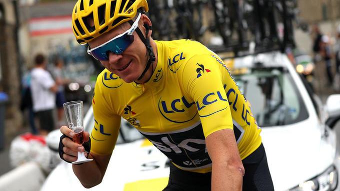 Chris Froome amarillo Tour